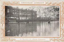 CPA CHOCOLAT LOMBART PARIS 1910 MINISTERE DES AFFAIRES