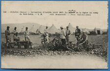 CPA: OUDJDA (Maroc) - La popote de la légion au camp de Sidi-Yahia / 1907