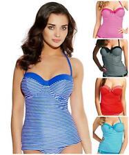 Freya Swimwear Tootsie Strapless Underwired Padded Tankini Top 3605 New Swimwear