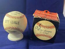 Vintage 1950's City League Baseball Model GC1516 with Original Box