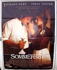 SOMMERSBY - AFFICHE CINEMA MOVIE POSTER 120X160 RICHARD GERE JODIE FOSTER