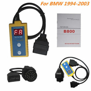Car SRS Airbag Reset Tool Scanner 20-Pin OBDII Diagnostic Tool For 1994-2003 BMW