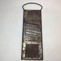 Vintage Bromwell's Grater-Slicer Metal Kitchen Tool Gadget Patina Decor Rustic