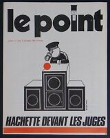 Revue Extrême Gauche LE POINT N°11 1972 post MAI 1968 communiste