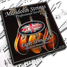 Adagio Pro MANDOLIN Strings - For Bluegrass Chop - Bronze Full String Set Light