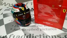 2018 Kimi Raikkonen signed 1/2 scale helmet