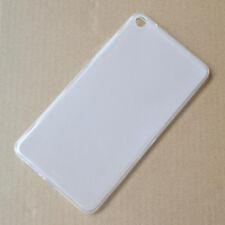 "For Lenovo Tab3 7plus 7.0"" White Glossy TPU Gel skin case cover"