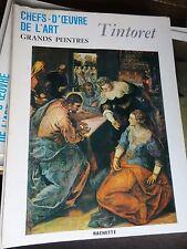 TINTORET art book grands peintres chef-d'oeuvre de l'art Tintoret 112 livres