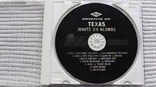 Texas White On Blond (Rare) UK Full Album CD Promo
