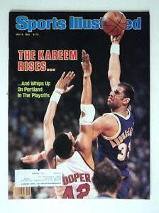1983 Sports Illustrated SI Basketball Lakers Kareem Abdul Jabbar -  FLASH SALE