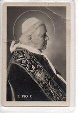 452 S. Pio X Santino Holycard