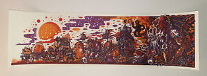 Drew Millward The Creep Parade Art Print Halloween Variant S/N Only 100 Sold Out