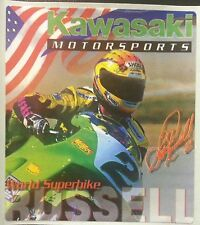 Scott Russell Kawasaki ZX7R ZX7RR World Superbike