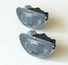 TOYOTA AYGO 2005-2012 NUMBER PLATE LAMPS LIGHTS LENS - PAIR SET OE: 81270-0H010