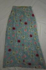 Vtg Womens Oilily Rayon Viscose Floral Skirt Hollywood Hippie Boho 60s 70s Rare