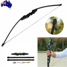 """50"""" Archery Takedown Recurve Bow 30lb Training Hunting Target Practice AU"""