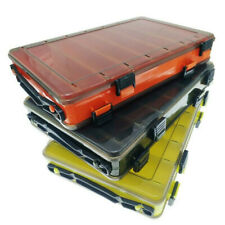 Fishing Bait Box Double-Sided Plastic Fishing Tackle Storage Box