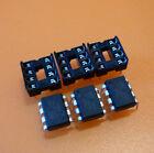 3x Atmel ATTiny85-20PU  und 3x DIL Sockel