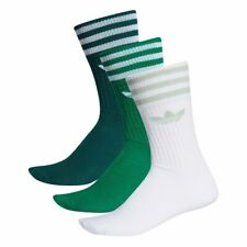 adidas Solid Crew  Socks Green Men