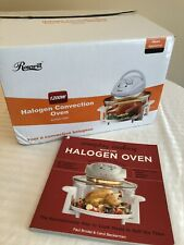 NIB Rosewill 1200W Halogen Convection Oven R-HCO-11001 NEW w/ 80 RECIPE COOKBOOK