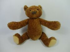 Moulin Roty Augustin Les Ours Brown Teddy Bear Soft Toy - RARE Jointed Limbs