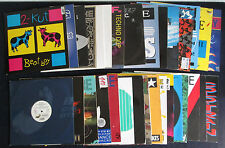 TECHNO * Maxis * 32 Stück * 1988 - 1992