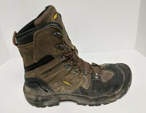 Keen Utility Coburg Steel Toe Work Boots, Brown, Men's 14 M