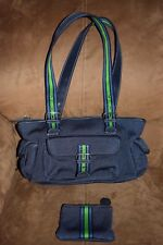 The Sak Satchel Shoulder Bag Medium Blue in VGC ! with FREE Coin Purse