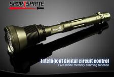 TrustFire CREE T6 13000 Lumen 5 Mode 26650 super helle LED Taschenlampe DE