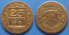 Germany Stadt Munster I/W Kriegsgeld 25 Pfennig 1918 Notgeld coin (КГ003в)