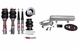 Truhart Air Suspension For 2006-2011 Honda Civic + VERA MANAGEMENT VIAIR 444C