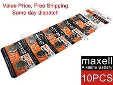 10x Maxell LR1130 189 AG10 GP89A 1.55V cell coin button battery Japan Ed 12-2019