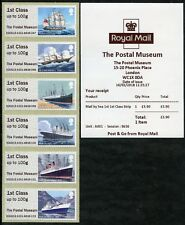 NEW! MAIL BY SEA POSTAL MUSEUM, NCR, MT PLEASANT DO(EO) 1st DAY 14 FEB POST & GO