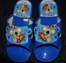 Vtg SAN-U Japan Children Youth Sandals KOALA BEAR US Size 11 Japan size 17 NOS