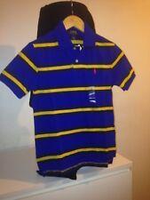 Children/ kids Ralph Lauren Custom Fit Striped Polo Shirt 100% Authentic10-12 yr