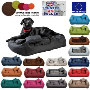 Luxury Soft Comfy Dog bed  Warm Sofa Bed Cushion Extra LARGE up to 130cm