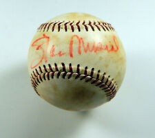 Stan Musial Signed international League Baseball Auto DP03818