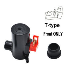 Front Windshield Wiper Washer Pump For Subaru Impreza Honda Civic Single Outlet