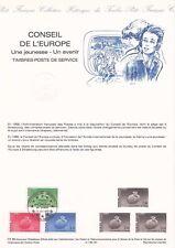Document philatélique CE-85 1er jour 1985 Conseil de l'Europe Timbres poste