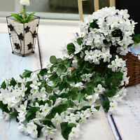 Artifical Flowers Ivy Vine Hanging Garland Plant Wedding Banquet Garden Decor