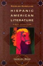 Hispanic-American Literature: A Brief Introduction and Anthology, Kanellos, Nico