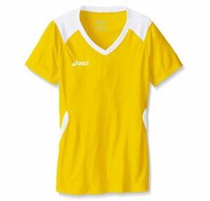 ASICS Kids' Jr. Set Jersey Gold/White XL