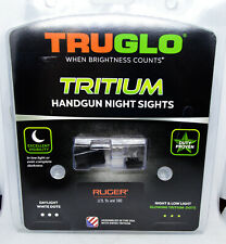 Truglo Model TG231R2 Tritium Handgun Night Sights For Ruger LC9, 9S, 380