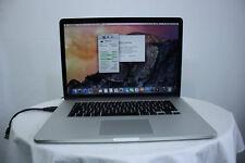 """Apple MacBook Pro Retina A1398 15.4"""" Core i7 8 Go 128 Go SSD GARANTIE nouvelle batterie"""