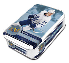 2017-18 Upper Deck Series 1 NHL Hockey Trading Cards Tin 12 Packs Total