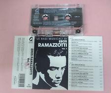 MC EROS RAMAZZOTTI Vol.1 compilation LE BASI MUSICALI DI italy no cd lp vhs