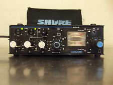 Shure FP33 Professional Portable 3 Channel Microphone Stereo Field Mixer-m836x