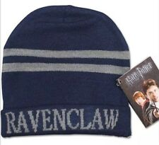 Harry Potter Ravenclaw Blue & Bronze Hat Beanie Unisex 20cm US Seller