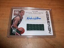 (2) 2014 Panini Elite Basketball Nate Wolters Auto Cards /499 Milwaukee Bucks