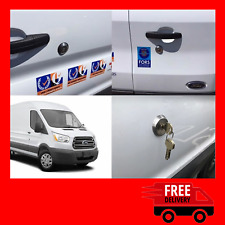 Ford Transit MK8 2014> Rear Slamlock Van Security Kit And Hykee Lock